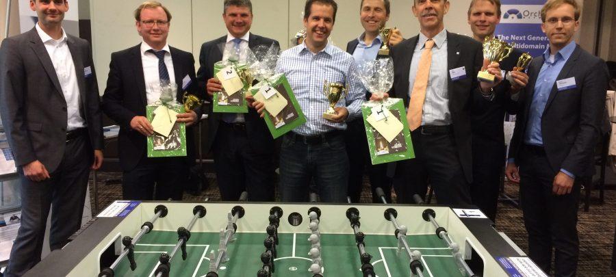 Strahlende Gewinner auf dem Stammdaten Management Forum in Köln