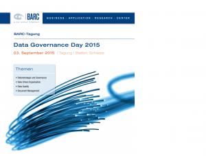 innoscale auf dem BARC Data Governance Day