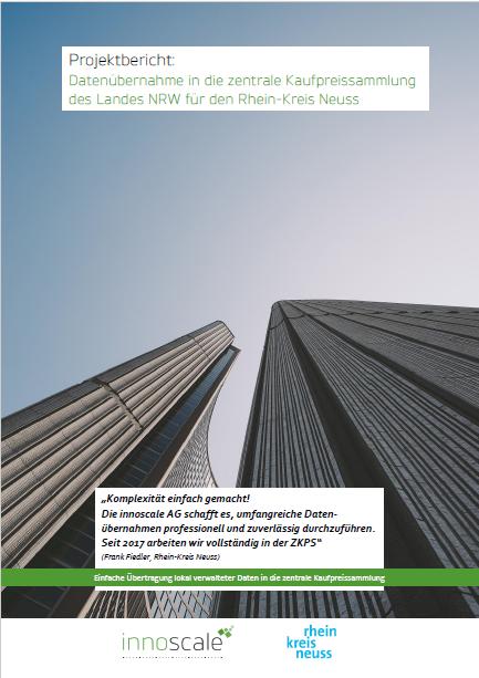 Projektbericht zur Datenübernahme des Landes NRW