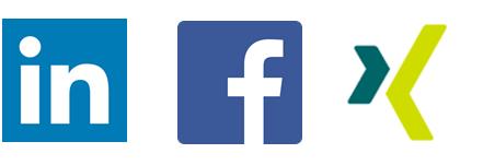 Social Media Profile der innoscale AG