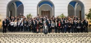 Gruppenfoto der Stipendienfeier des Deutschlandstipendium s an der TU Berlin - Copyright TU Berlin/Jacek Ruta
