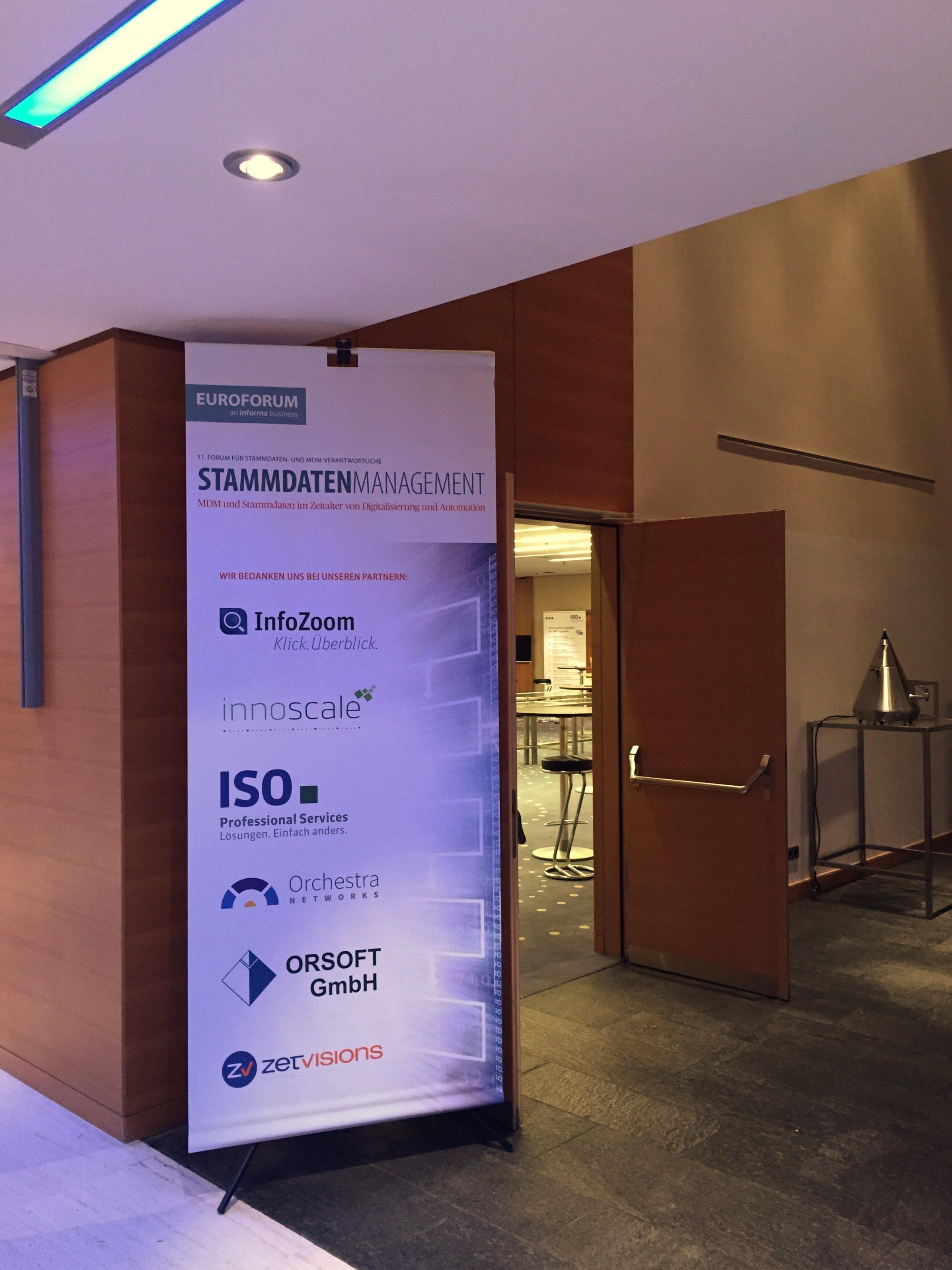 Stammdaten Management Forum 2016 vom Euroforum