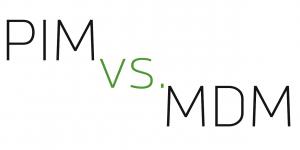 PIM vs. MDM | Header innoscale Blog