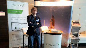 Dieter Zimmermann am innoscale-Stand beim Stammdaten Management Forum 2017