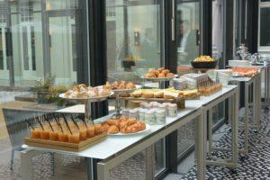 Frühstücksbuffet beim Datenfrühstück