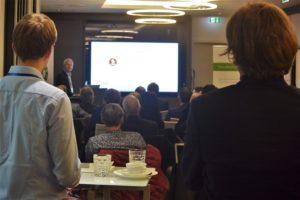 Vorträge über Datenschutz und Betrugsprävention beim Datenfrühstück