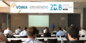innoscale beim StartUp Event des VDMA