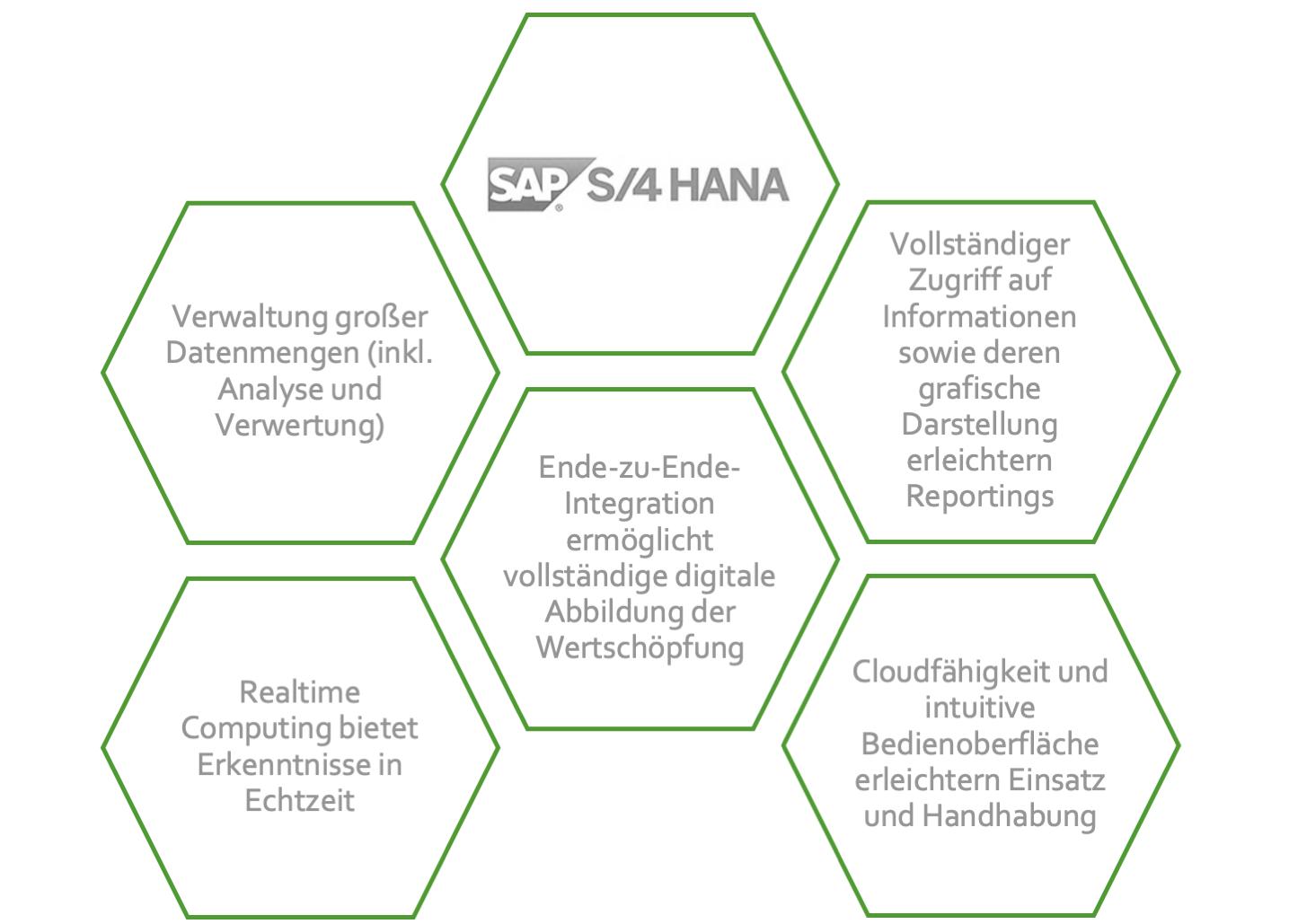 Datenmigration zu SAP S/4 HANA – Die Funktionen des ERP-Systems