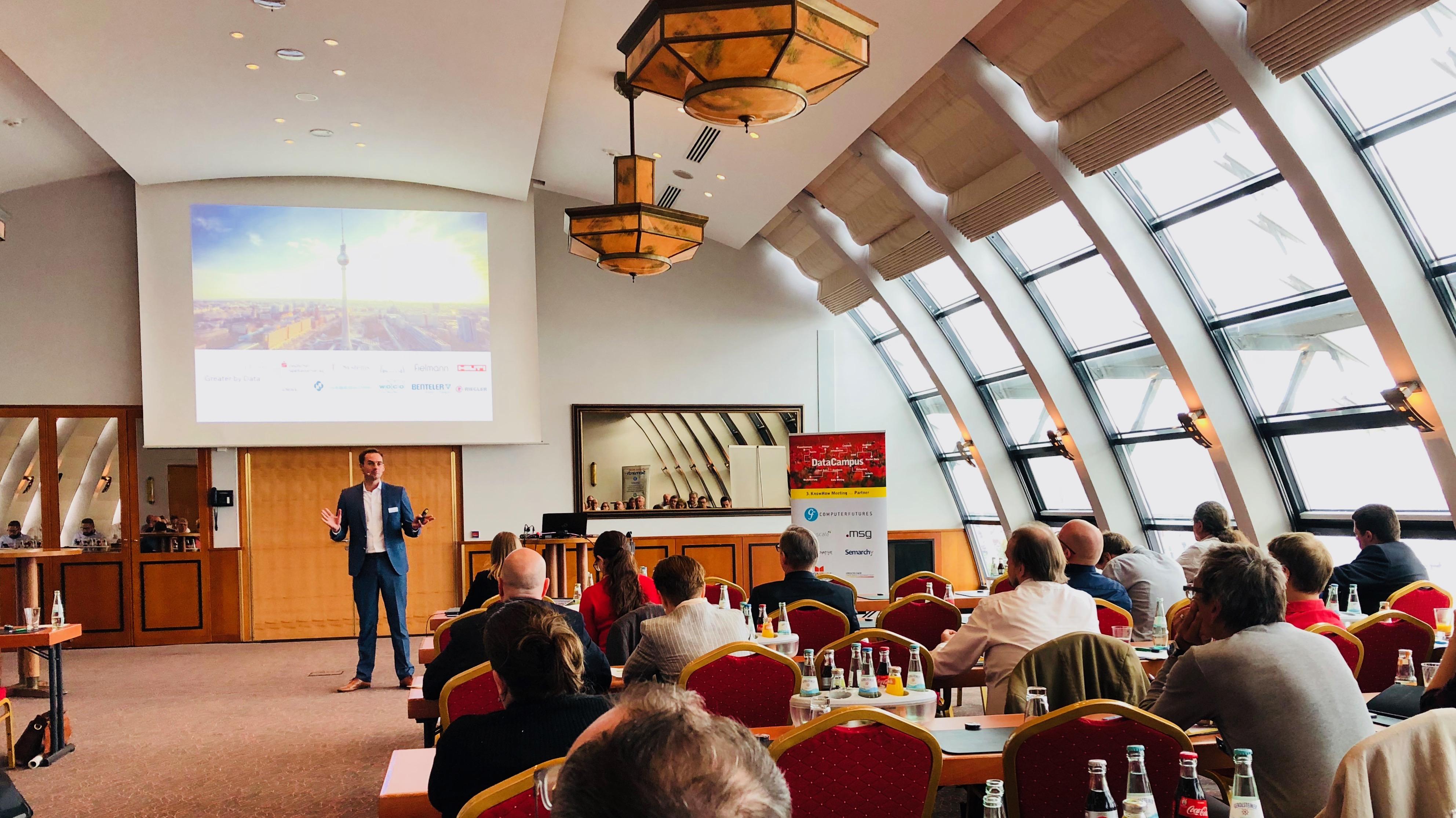 Vortrag von Dr. Tobias Brockmann über Stammdatenqualität