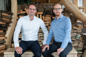Gründer des Datenmanagement-Unternehmens innoscale AG in Berlin – Matthias Czerwonka und Dr. Tobias Brockmann
