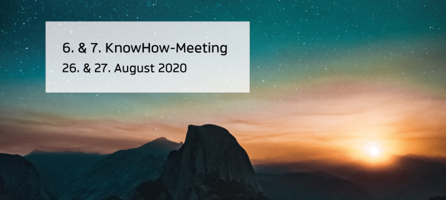 Beitrag 6. & 7. KnowHow-Meeting 2020